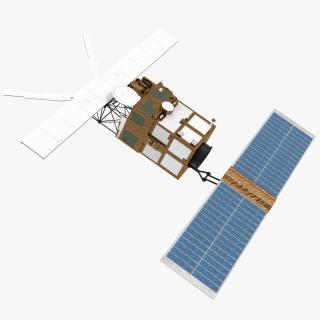 European Remote Sensing Satellite ERS-2 3D model