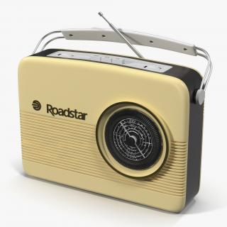 3D Retro Radio