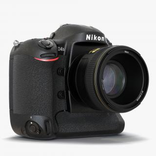 Nikon Cameras Collection 3D model