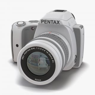 Pentax K-S1 White 3D
