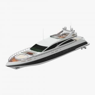 3D Motor Yacht 2 model