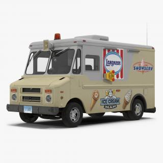 3D Ice Cream Van model