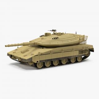3D model Merkava Mk IV 2