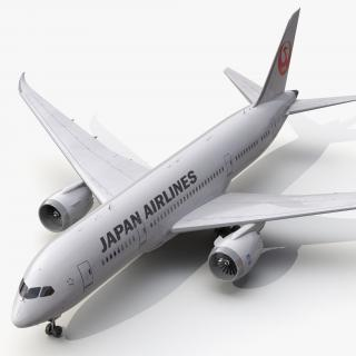 3D Boeing 787-8 Dreamliner Japan Airlines model