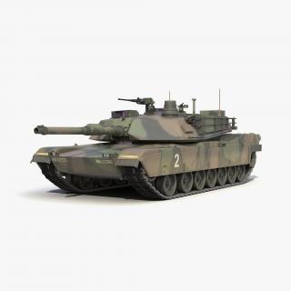 M1 Abrams 3D model