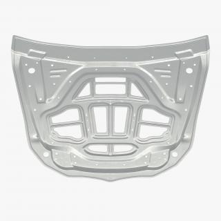 SUV Hood Frame 3D model