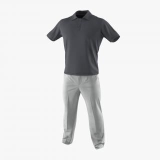 3D Mens Casual Clothes 2