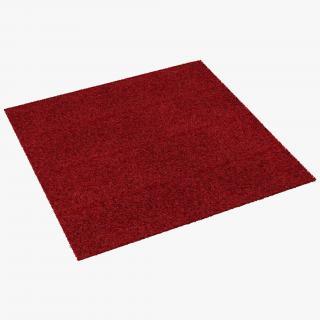 3D model Carpet Red