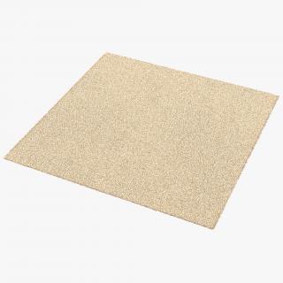 Carpet White 3D