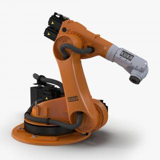 3D Kuka Robot KR-30 4 KS Rigged model
