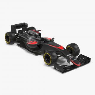 3D model Formula One Car