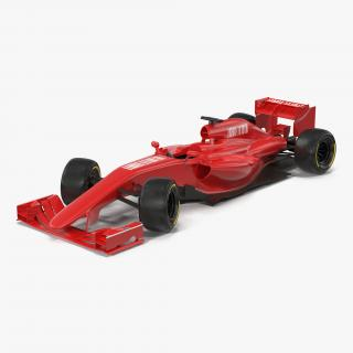 3D model Formula One Car Rigged Generic