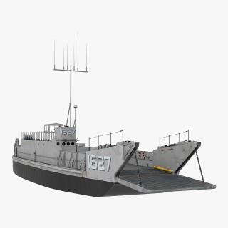 Landing Craft Utility class 1627 3D