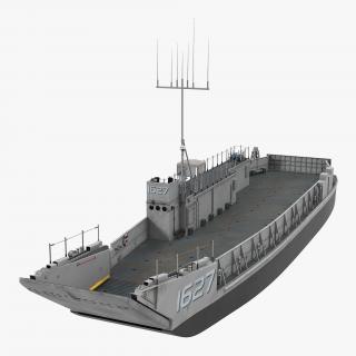 Landing Craft Utility class 1627 2 3D model