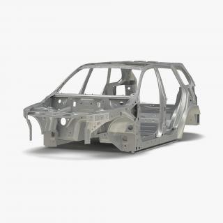 3D SUV Frame 3