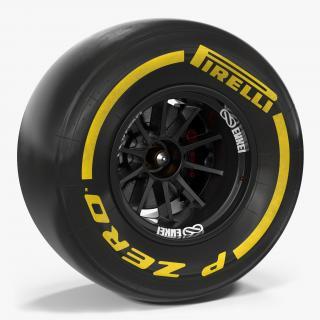Formula One Wheel 3D