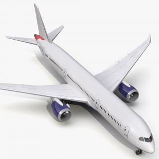 3D Boeing 787-9 Dreamliner Generic