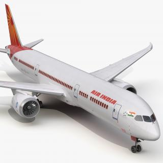 3D Boeing 787-9 Dreamliner Air India model