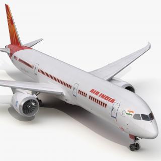 3D Boeing 787-9 Dreamliner Air India model