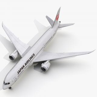 3D Boeing 787-9 Dreamliner Japan Airlines model