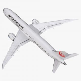 3D model Boeing 787-9 Dreamliner Japan Airlines Rigged