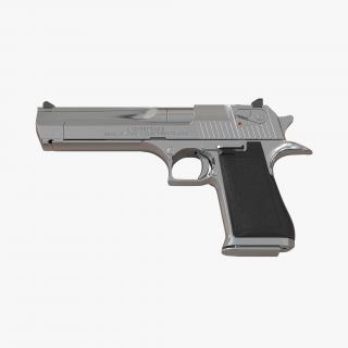 3D Pistol IMI Desert Eagle model