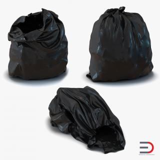 3D Garbage Bags Collection model