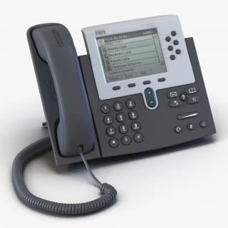 3D Cisco Unified IP Phone 7961G model