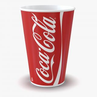 3D Drink Cup Coca Cola 2