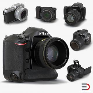 3D model Cameras Collection 2