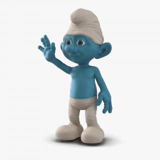 Smurf Pose 2 3D