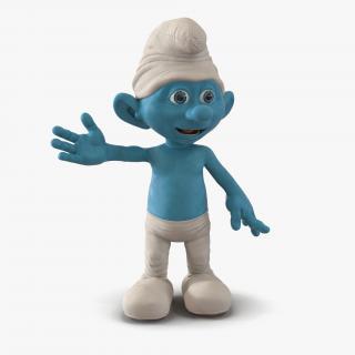 Smurf Pose 3 3D