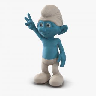 Smurf Pose 4 3D