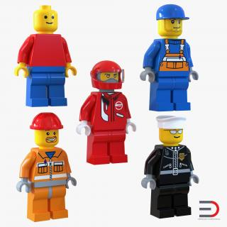 Lego Minifigures Collection 3D