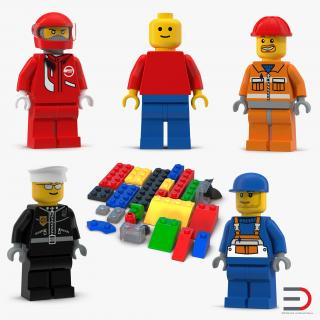 3D model Lego Collection