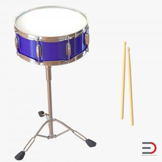 Snare Drum Set 3D model