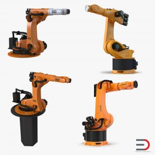 Kuka Robots Collection 4 3D model