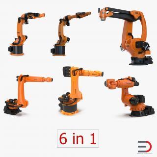 Kuka Robots Collection 5 3D model