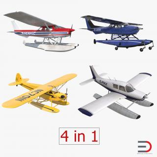 Seaplanes Collection 2 3D