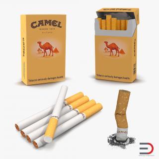 Cigarettes Camel Collection 3D