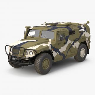 3D Infantry Mobility Vehicle GAZ Tigr M