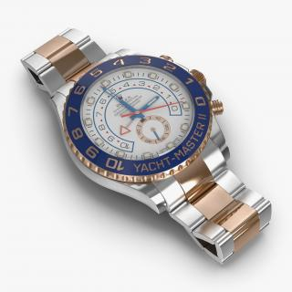 Rolex Yachtmaster II Oyster Steel and Gold 3D
