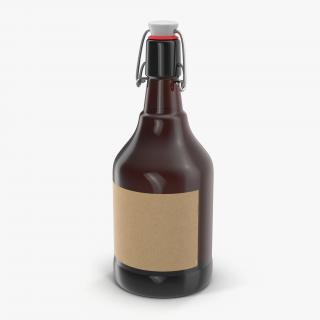 3D Cold Brew Bottle 2 model