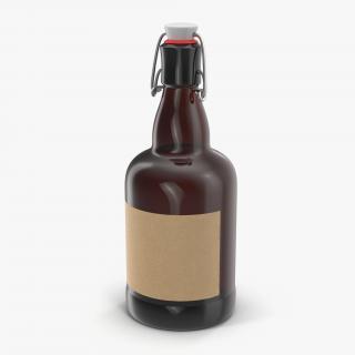 3D Cold Brew Bottle 3 model