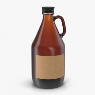 3D Cold Brew Bottle 5 model