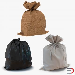3D Sacks Collection 2 model