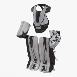 3D Hockey Goalie Protection Kit Generic