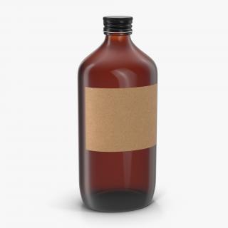 3D Cold Brew Bottle 6 model