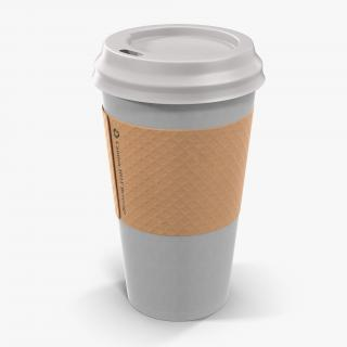 To Go Cup With Sleeve Generic 3D model