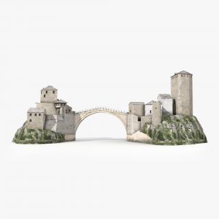 Stari Most Mostar 3D